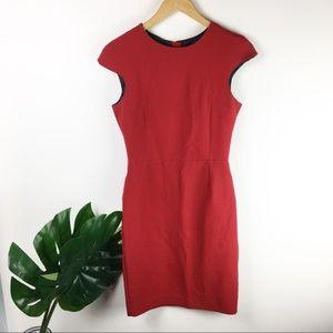 Zara Basic | Zip up pencil dress